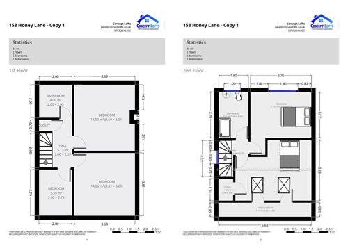 Example Loft Conversion Floorplan